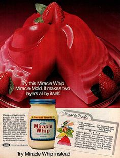 miracle whip miracle mold