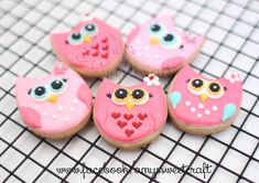 Owl cookies | Flickr - Photo Sharing!