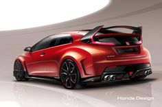 Honda Civic Type R Concept Teased Before Geneva Debut