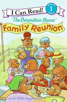 The Berenstain Bears' Family Reunion all berenstain bears books, famili reunion, tree houses, read books, family reunions, reunion idea, public libraries, print, august 2013