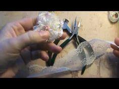 No sew No glue lace flower tutorial