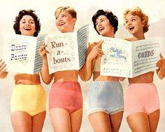 Vintage Lingerie Advertising | vintage underwear ads | VINTage lingerie ADvertising / ,