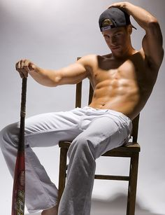 Hellooo, Mr. Baseball Player!