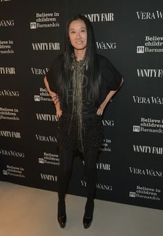 On Wednesday evening, amid all the airy ivory storefronts on Rodeo Drive, Vera Wang celebrated her new Beverly Hills boutique.