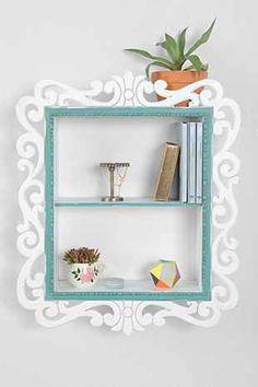 Plum & Bow Scroll-Trim Wall Shelf - Urban Outfitters