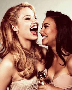 Dianna Agron and Naya Rivera