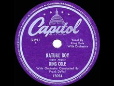 1948 HITS ARCHIVE: Nature Boy - Nat King Cole (his original #1 version)