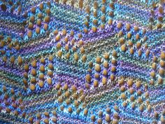 Storm Water Scarf on ravelry