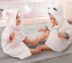 Gingham Nursery Robe. POTTERY BARN KIDS.