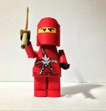 3D quilled Ninjago