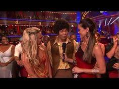 Season 14, Week 3:  Roshon Fegan & Chelsie Hightower dance Samba