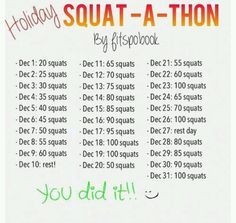 Lets just pretend it says January lol im ready to get them toned thighs :)