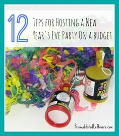 12 Tips for Hosting a New Year's Eve Party on a Budget #cars #carinsurance #cartips  #finance  http://thecheapestcarstoinsure.co.uk/