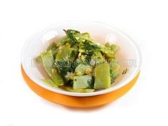 Judías verdes salteadas con perejil y limón - Diabetes