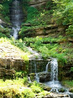 Dogwood Canyon Nature Park S.W. of Branson, Mo