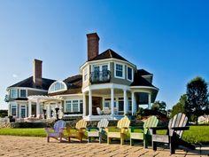 Beautiful beach house in Connecticut.