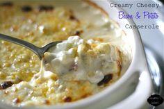 Creamy Cheesy Bacon & Potato Casserole