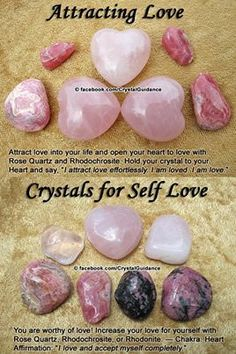 healing crystals for love
