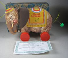 Limited Edition Fisher Price Toy fest Jingle elephant