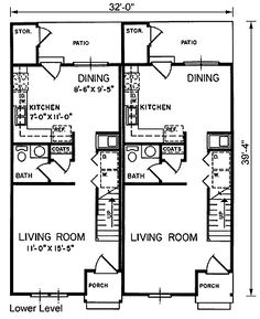 two family house plans on pinterest house plans duplex