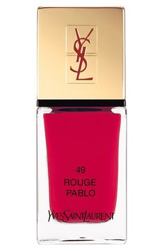 Yves Saint Laurent 'La Laque Couture' Nail Lacquer | Nordstrom     |   Visit my nail Lacquers and Nail Art pinterest over 11,000 pins @opulentnails #nailpolish #OPI #Butter #Narns #Dior #Evie #Essie #MichaelKors  #TomFord #YSL
