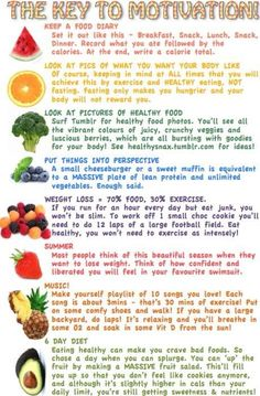 Healthy lifestyle motivation