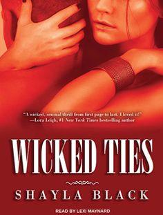 Landmark Erotic Romance Book - Wicked Ties by Shayla Black