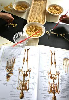 More pasta skeletons.
