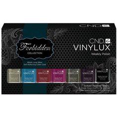 Colección Forbidden Vinylux CND 2013-2014  http://nailsbarvalencia.com/tiendaonline/vinylux-forbidden-edicion-limitada-cnd