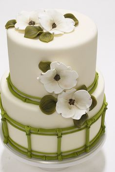 Dogwood Cake by studiocake, via Flickr
