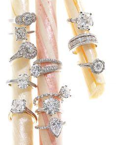 #diamond #wedding #rings galore!