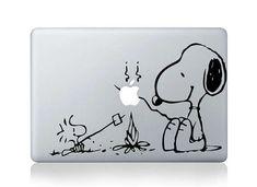 Snoopy Macbook Decal