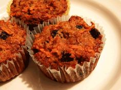 Carrot Cake Muffins from GAPS Diet Journey
