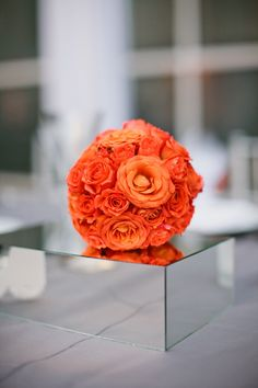 Lots of brilliant orange these days!  Flowers by bigbangevents.net, Event planning by katemillerevents.com,  Photography by scottandrewstudio...