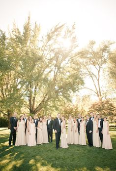 wedding parties, blush and gold wedding party, blush weddings, dream, bridesmaid dresses, black suit, champagn bridesmaid, bridal parties
