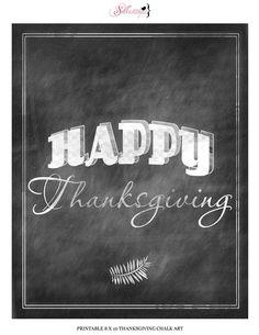 thanksgiving chalkboard art - Google Search
