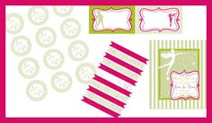Neverland Party Printable KIT  Fairy Peter Pan by worldwideparty, $29.00 Using her I think.