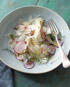 Shaved Radish, Fennel, and Parmesan Salad   Whole Living