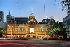 The Princess Theatre, Melbourne: The theatre's ghostly presence dates back to 1888, when opera singer Federici died after a performance of the opera 'Faust'. On every opening night, a seat in the Dress Circle is left empty for Federici and it is a sign of good luck if there is a sighting on that night. Many staff over the years have reported sightings of the friendly ghost.