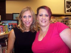 One of my favorite Authors Emily Giffin she was amazing to meet in person