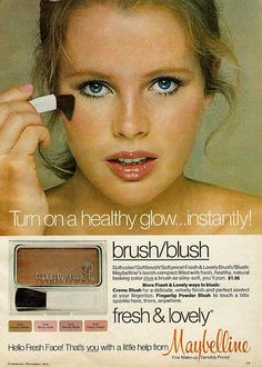 1970s Maybelline blush