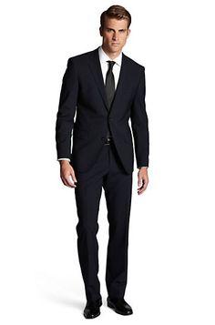 Modern Fit Wool Blend 'The Jam/Sharp' Suit, Dark Blue
