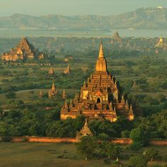 Bagan, Myanmar. Will go there once.