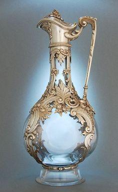 Jug - 1890 - by Josef Carl Klinkosch, Vienna - Art Nouveau - @~ Mlle