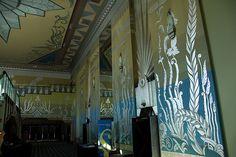 Fox Theater (Spokane, WA by wsmith, via Flickr).....Gorgeous Art Deco theater, recently renovated.