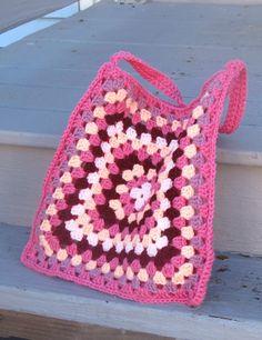 Dear Granny by Anastacia Zittel, free crochet granny square bag
