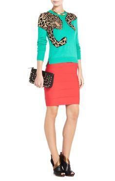 Really like this jumper! Like a trompe l'oeil fur.