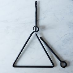 Hand Forged Triangle Dinner Bell