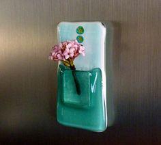 Glass Pocket Magnetic Vase by bprdesigns on Etsy, $12.00