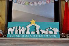 Wood you like to craft?: Nativity- Sassy Sanctuary
